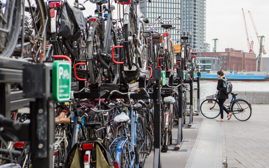 Hoe voorkomen we fietsfiles in de stad?
