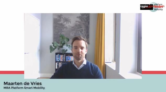 Maarten de Vries in eerste uitzending Metropoolregio Actueel