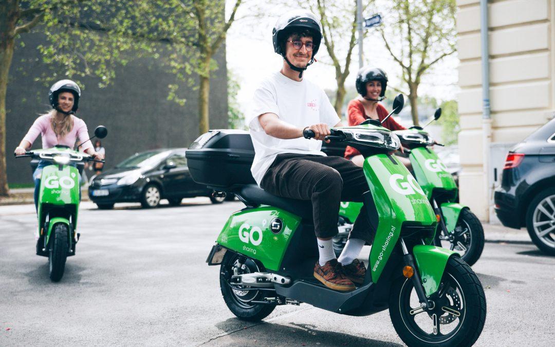 Online kenniscafé over deelfietsen en deelscooters